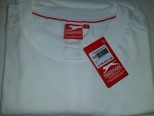Men's Slazenger TShirt - White - Size 4XL /  XXXXL Big Plus Size. Tee shirt