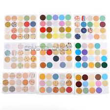 160pcs Personalised Craft Packaging Seals Kraft Sealing Sticker Label Round