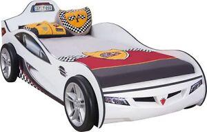 Cilek Autobett Coupe Racer weiss  Kinderbett Spielbett 90X190