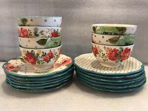 Pioneer Woman Lot Plates Bowls