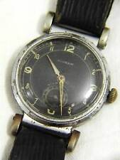 RARE NIVRAM MILITARY SWISS WATCH WITH FANCY MOBILE LUGS