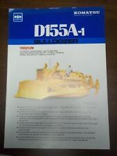 Komatsu Sales Brochure~D155A-1 Bulldozer~Specifications
