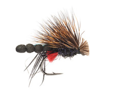 Red Tag Hog Hopper Dry Fly - Size 12 - Trout Fly Fishing