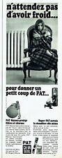 Publicité Advertising 099  1967   PAT Ca va Seul  protège nettoie chaudière cite