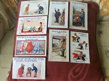 More details for saucy postcards eight vintage bamforth used postcards from 1928/30's george v
