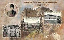 TURKEY / 2019 - (S/S) Arrival of Ataturk, MNH, Mi: 4559/4562 (Block 197)