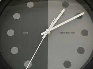 Very Rare New Shinola Runwell GE Robert Mapplethorpe Artist Wall/Mantle Clock!