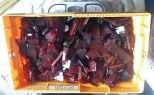 100 % Orig. DDR Würfel Material Cube rods red Bakelite 10 kg - 10.000 gram HOT
