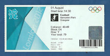Orig. Ticket Olympic Games London 2012 Football Egypt-Belorussia!