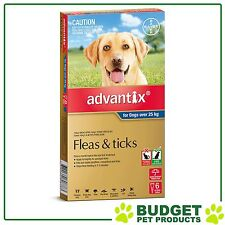 Advantix For Extra Large Dogs Over 25kg 6 pack