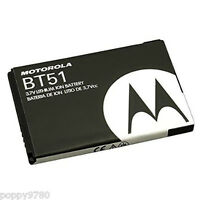 NEW OEM Motorola BT51 Smart Android Cell Phone Battery  3.7V Li-Ion 950mAh