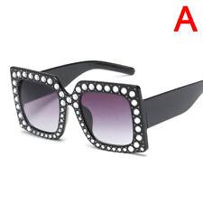 Sale Oversized Square Frame Bling Rhinestone Sunglasses Women Fashion Shades J&S