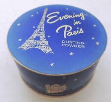 Vintage Evening in Paris Dusting Powder Box Full Bourjois