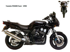 Motorcycle Canvas Picture Yamaha FZS600 Fazer 1998 Canvas 16x12 inch