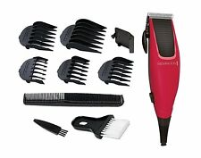 REMINGTON HC5018 APPRENTICE HAIR CLIPPER, RED, 3 YEARS GUARANTEE **BRAND NEW**