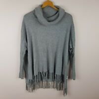 Seed Heritage Poncho Jumper Size XS Grey
