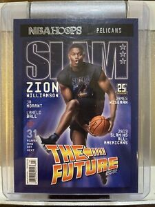 2020-21 Panini NBA Hoops Zion Williamson Slam Insert Card