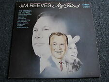Jim Reeves-My Friend lp-1972 Canada-Country - 33 giri/min-ALBUM