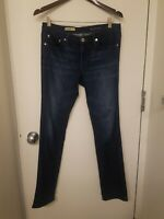 """AG Adriano Goldschmied """"THE STEVIE ANKLE SLIM STRAIGHT LEG"""" Jeans, Size 28R"""