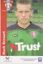AUTOGRAMMKARTE / AUTOGRAPHCARD Mark Bevaart FC Dordrecht 2003/2004