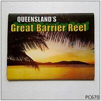 Queensland's Great Barrier Reef View Folder Postcard (P670)