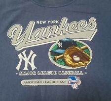 NEW YORK YANKEES 2005 AMERICAN LEAGUE EAST MLB CSA T-Shirt Men's LRG