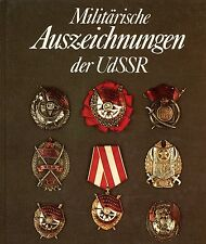 Russia USSR Orders Order Medals Medal History Reference Book Catalog in German
