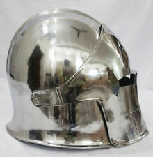 Antique Medieval Brass Barbute Armour Helmet Costume Renaissance Style Replica
