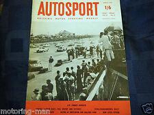 Peter Collins Phil Hill vincere SEBRING 12 ore 1958 FERRARI 250 TR PORSCHE 718 TSD