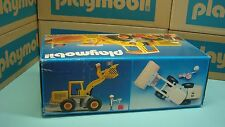 Playmobil Vintage Retired Construction 3458 Earth Mover Excavator NEW