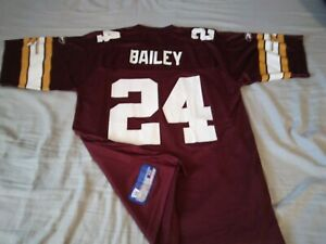 *Throwback* CHAMP BAILEY #24* Redskins*Reebok*Limited 70th Ann. Patch*Jersey (M)