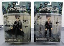 "The Matrix ""The Film"" Cypher & Neo aka Thomas Anderson 6"" Figures N2Toys NIP '99"