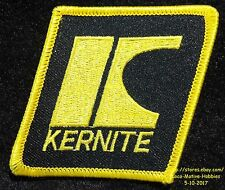 """LMH PATCH Badge  KERNITE LUBRICATION  Oil Lubricants Grease Gear Lube Fluid 2.8"""""""