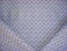 8+Y BEAUTIFUL THIBAUT BLUE ETHNIC BARGELLO IKAT WEAVE DRAPERY UPHOLSTERY FABRIC