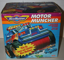 Vintage Galoob Micro Machines Motor Muncher Monster Truck 4x4 Sweeper 1991