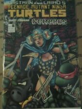 Teenage Mutant Ninja Turtles #8 Guest Starring Cerebus PETER LAIRD SIGNATURE VF