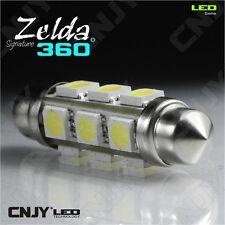 1 AMPOULE LED AUTO NAVETTE C10W 42mm 360° BIPOLAIRE ZELDA SMD 5050 AUTO-REMORQUE