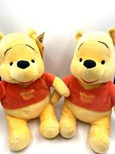 "Winnie The Pooh Kohl's Cares For Kids Stuffed Animal Plush Toy Disney 12"" Set"