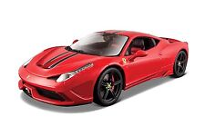 Bburago Ferrari 458 SPECIALE Signature Series 1 43 Scale Red Diecast Model