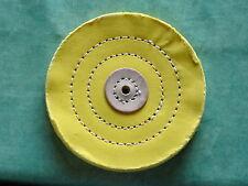 Polierschwabbeln gelb Durchmesser 125 x 15 mm