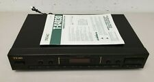 Teac T-X4030 Fm/Am Digital Synthesizer Tuner Radio Home Audio Tested Working