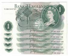 1966 - 1977 BANK OF ENGLAND ONE POUND £1 NOTE CRISP 100% GENUINE Fforde, Page