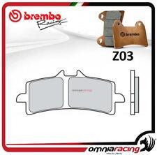 Brembo Racing Z03 pastillas freno FRE sinterizado TRIUMPH DAYTONA 675R 2013>