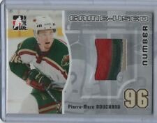 2005-06 ITG Heroes and Prospects Number Silver #GUN-31 Pierre-Marc Bouchard /30