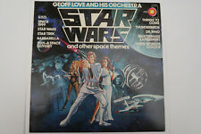 Geoff Love & His Orchestra – Star Wars & Other Space Themes LP, Aus, NEAR MINT
