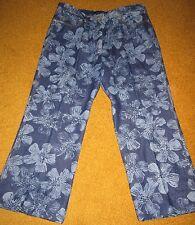 Anne Klein size 16 patterned 100% cotton jeans