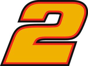 NEW FOR 2021 #2 Rusty Wallace Racing Sticker Decal - SM thru XL - Various Colors