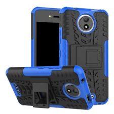 Carcasa híbrida 2 piezas Exterior Azul Funda para Motorola Moto C Plus NUEVA
