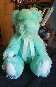 2003 BOYDS BEARS & FRIENDS MINT GREEN TEDDY BEAR SOFT PLUSH TOY ST PATRICK'S DAY