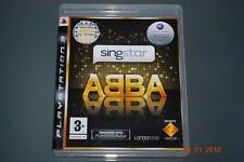 Singstar ABBA PS3 Playstation 3 **FREE UK POSTAGE**